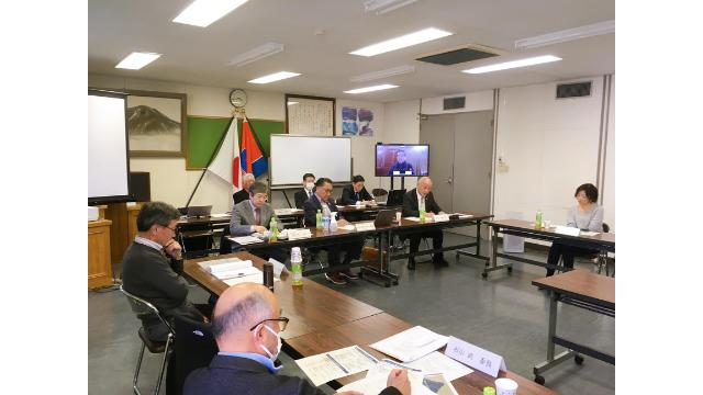 軽井沢町主催の『22世紀風土フォーラム基本会議』にて朝比奈がファシリテーターに