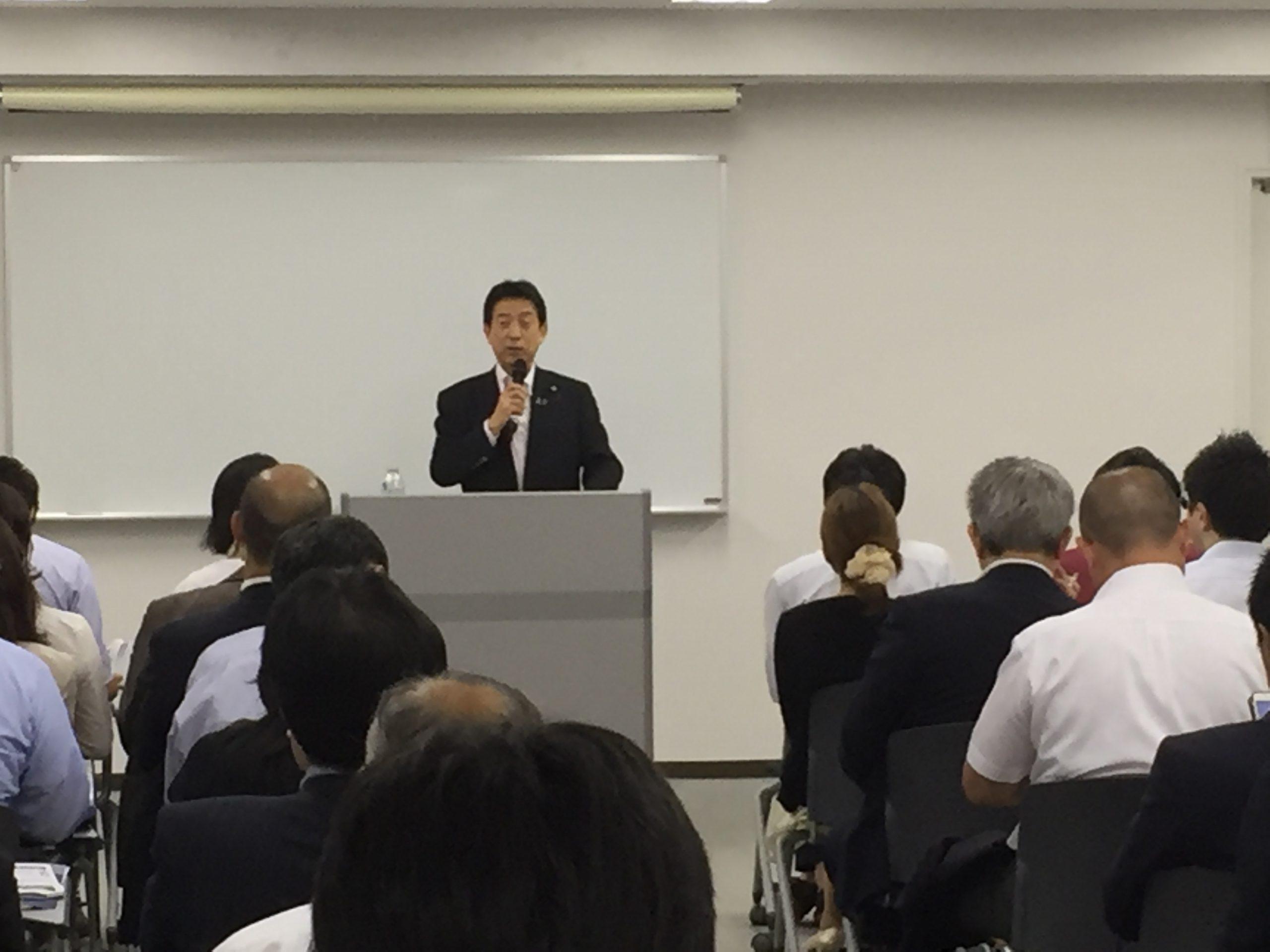 第32回 厚生労働大臣 塩崎恭久による講演会(2016/7/28)